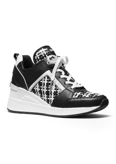 MICHAEL Michael Kors Women's Georgie Lace Up Trainer Sneakers