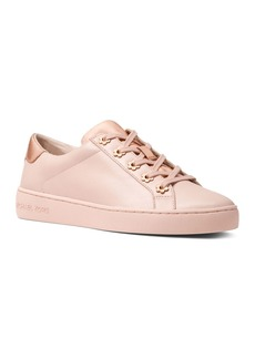MICHAEL Michael Kors Women's Irving Leather Lace Up Sneakers