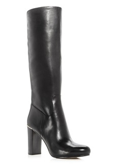 MICHAEL Michael Kors Women's Janice Leather High Heel Boots