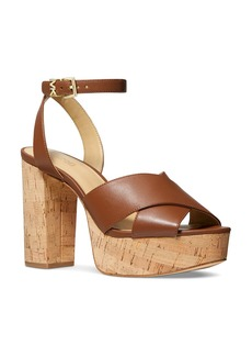 MICHAEL Michael Kors Women's Odette Ankle Strap Platform Sandals