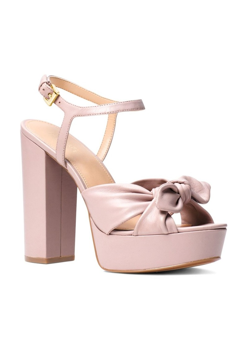 0658266595df MICHAEL Michael Kors Women s Pippa Leather Platform High-Heel Sandals