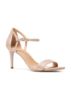 MICHAEL Michael Kors Women's Simone Leather High-Heel Sandals