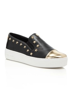 MICHAEL Michael Kors Women's Tia Cap Toe Slip-On Sneakers - 100% Exclusive