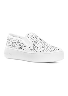 MICHAEL Michael Kors Women's Trent Perforated Leather Slip-On Sneakers