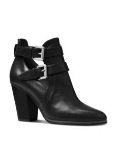 MICHAEL Michael Kors Women's Walden Buckled Ankle Booties