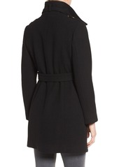 MICHAEL Michael Kors Wool Blend Trench Coat (Regular & Petite)