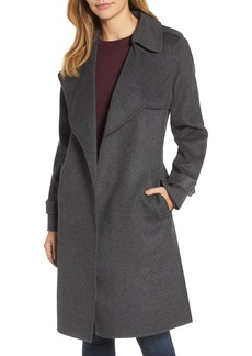 MICHAEL Michael Kors Wool Blend Wrap Coat