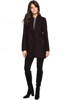MICHAEL Michael Kors Wool Plaid Coat M221670T