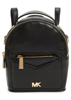 MICHAEL Michael Kors X-Small Convertible Leather Backpack