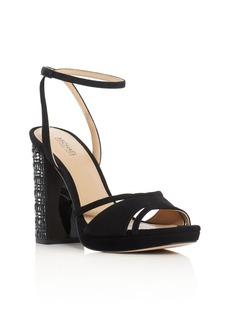 MICHAEL Michael Kors Yoonie Embellished Heel Platform Sandals
