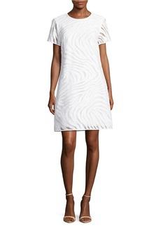 MICHAEL MICHAEL KORS Zebra Jacquard Dress