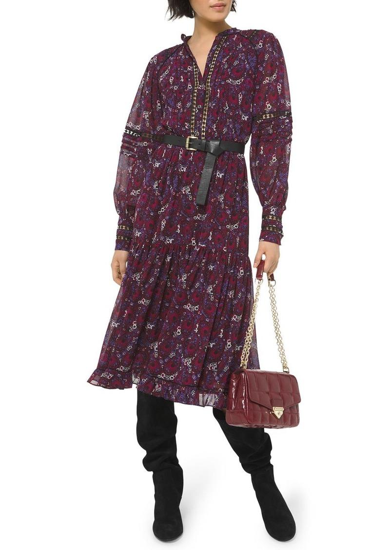 MICHAEL Michael Kors Zinnia Paisley Print Dress