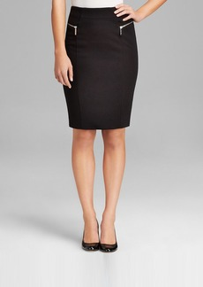 MICHAEL Michael Kors Zip Pencil Skirt