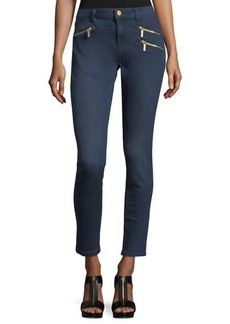 MICHAEL Michael Kors Zip-Pocket Ankle Skinny Jeans
