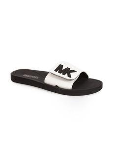 MICHAEL Michael Kors'MK' Logo Slide (Women)