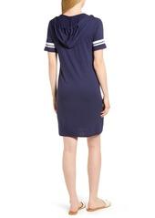 c236a55f6eb ... MICHAEL Michael Kors MICHAEL Michal Kors Stripe Sleeve Hoodie Dress ...