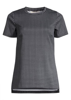MICHAEL Michael Kors Micro Check Knit Tunic