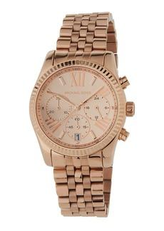 MICHAEL Michael Kors Mid-Size Rose Golden Stainless Steel Lexington Chronograph Watch
