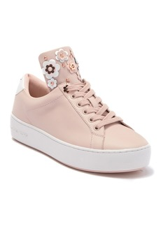 MICHAEL Michael Kors Mindy Floral Leather Sneaker