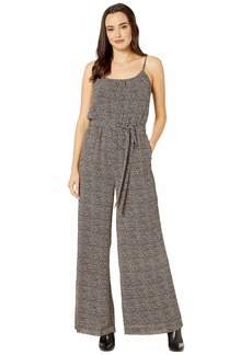 MICHAEL Michael Kors Mini Cheetah Tank Jumpsuit