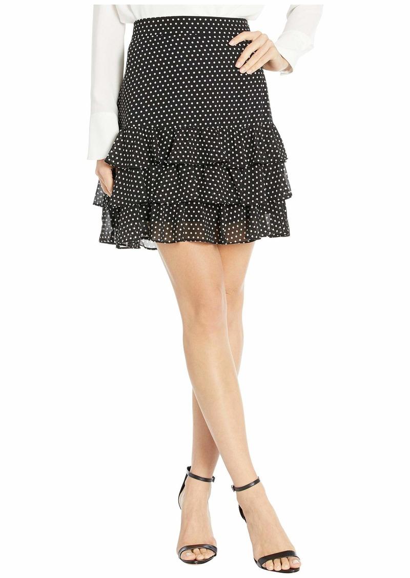 MICHAEL Michael Kors Mini Dot Ruffle Skirt
