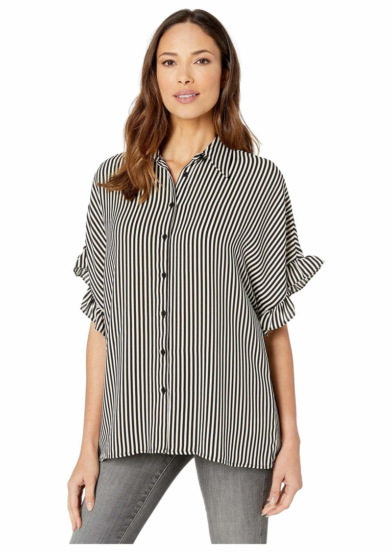 MICHAEL Michael Kors Mini Ribbon Stripe Shirt