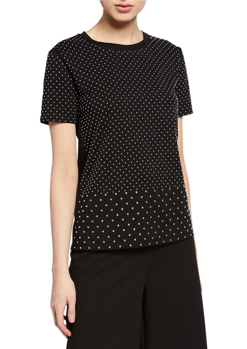 MICHAEL Michael Kors Mini Stud Short-Sleeve T-Shirt