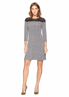 MICHAEL Michael Kors Mini Tweed Lace Dress