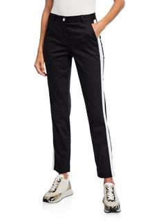 MICHAEL Michael Kors Miranda Tuxedo-Stripe Pants