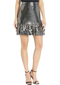 MICHAEL Michael Kors Mirror Dot 2Tier Skirt