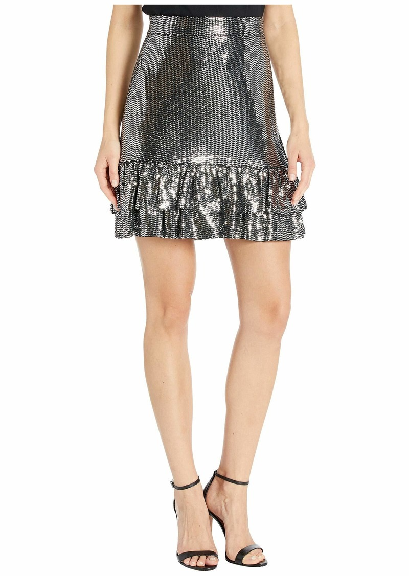 MICHAEL Michael Kors Mirror Dot 2Tier Skirt