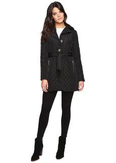 MICHAEL Michael Kors Missy Long Belted Quilt M422034T