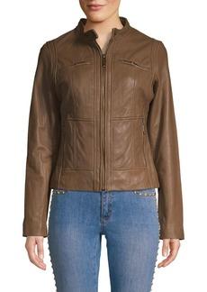 c83065734b9b MICHAEL Michael Kors MICHAEL Michael Kors Asymmetric Moto Jacket ...