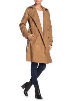 MICHAEL Michael Kors Missy Notch Lapel Coat