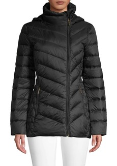 MICHAEL Michael Kors Missy Packable Quilted Down Puffer