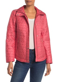 MICHAEL Michael Kors Missy Quilted Short Barn Jacket