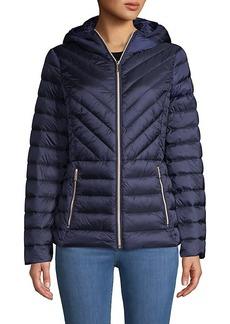 MICHAEL Michael Kors Missy Zip Packable Down Jacket