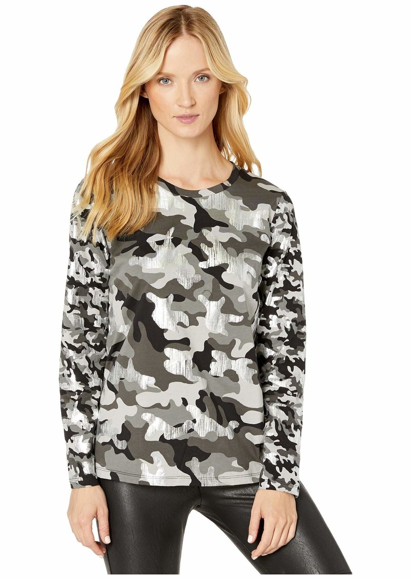 MICHAEL Michael Kors Mix Camo Long Sleeve T-Shirt