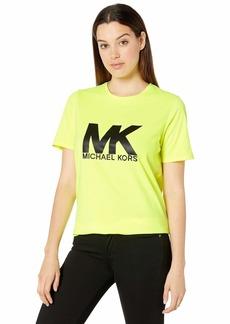 MICHAEL Michael Kors MK Logo Neon Tee