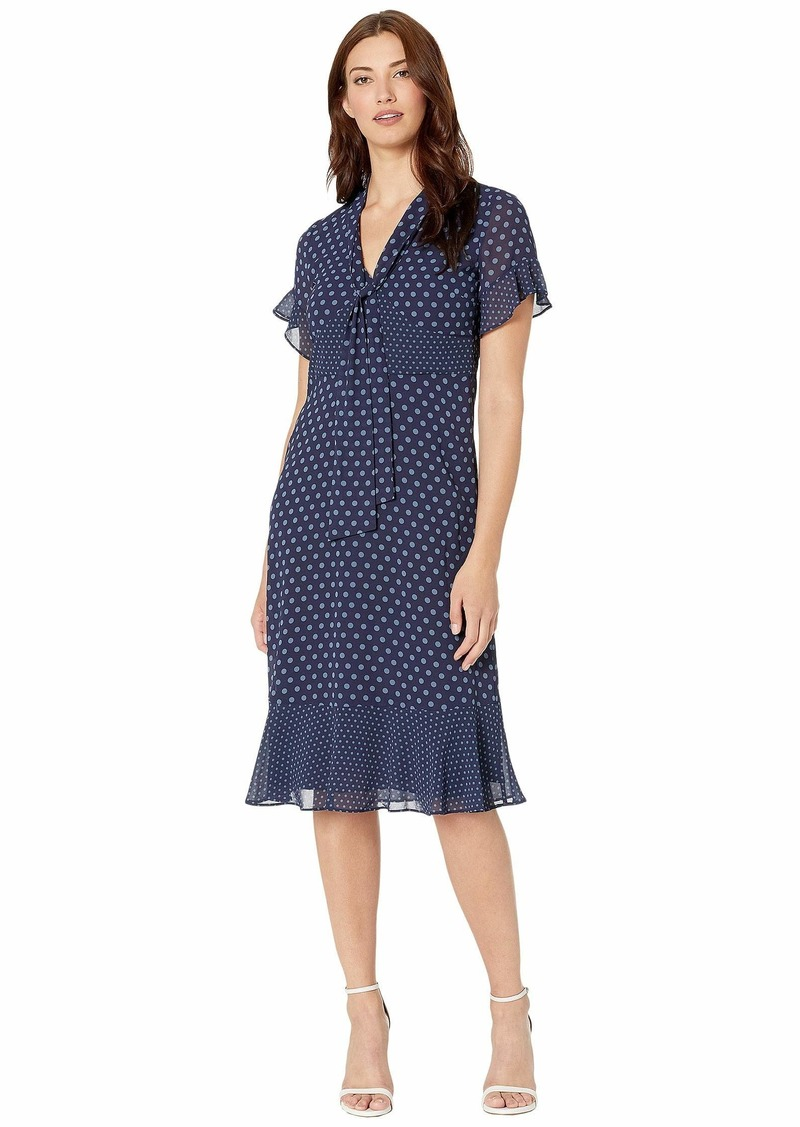 MICHAEL Michael Kors Mod Dot Mix Tie Dress