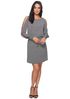 MICHAEL Michael Kors Mod Geo Slit Blouson Dress