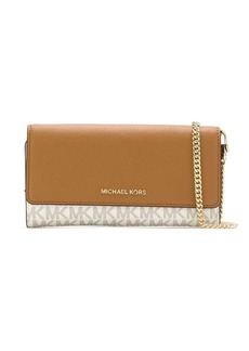 MICHAEL Michael Kors monogram patterned chain clutch
