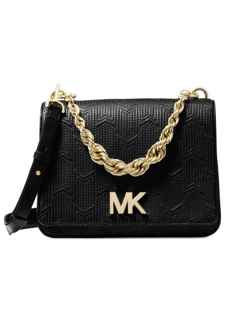 691a4345030691 MICHAEL Michael Kors Mott Twisted-Chain Crossbody Bag   Handbags