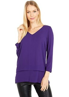 MICHAEL Michael Kors Multi Woven Layered Top