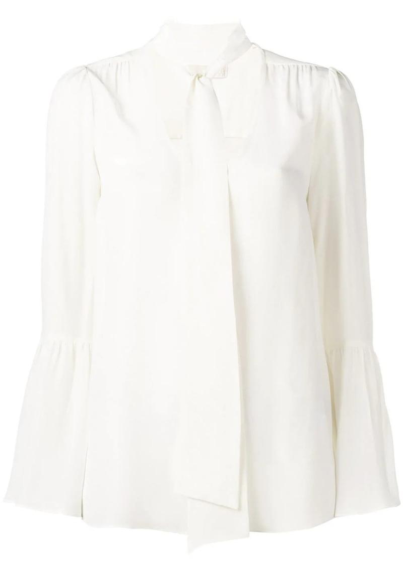 MICHAEL Michael Kors neck tie blouse