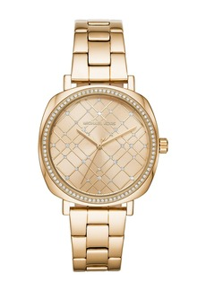 MICHAEL Michael Kors Women's Nia Embellished Watch, 38 x 44mm