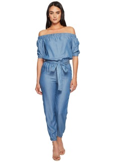 MICHAEL Michael Kors Off Shoulder Jumpsuit