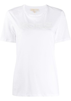 MICHAEL Michael Kors on-tone sequin-logo T-shirt