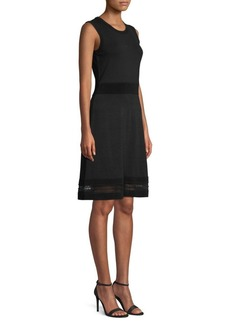 MICHAEL Michael Kors Ottoman Sleeveless Sheath Dress