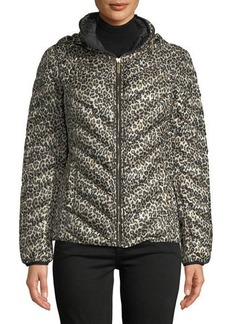 MICHAEL Michael Kors Packable Down Fill Hooded Jacket